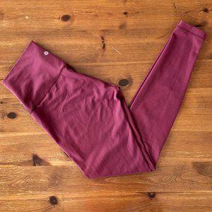 lululemon athletica Burgundy Leggings